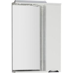 Зеркальный шкаф Aquanet Гретта 60 цвет белый (177015)