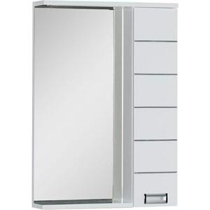 Зеркальный шкаф Aquanet Доминика 60 LED цвет бел (171918)