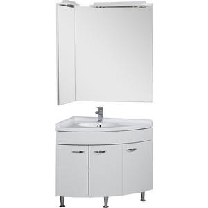 Комплект мебели Aquanet Корнер 55х80 угловой Close L  цена