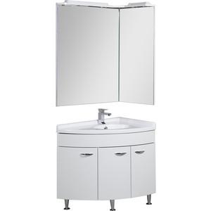 Комплект мебели Aquanet Корнер 55х80 угловой Close R  aquanet ибис левая с п д