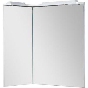 Купить зеркало Aquanet Корнер 80 L угл карниз (158820) (327882) в Москве, в Спб и в России