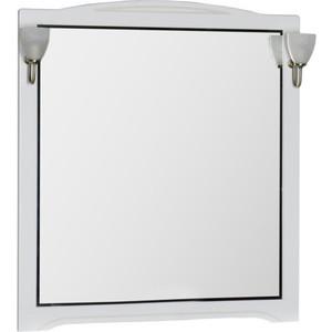 Купить зеркало Aquanet Луис 100 белый без светильника (173208) (327908) в Москве, в Спб и в России