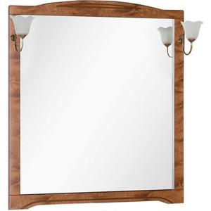 Зеркало Aquanet Луис 100 темный орех, без светильника (173209) зеркало aquanet луис 110 бежевый без светильника 173210