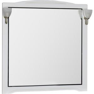 Купить зеркало Aquanet Луис 110 белый без светильника (173211) (327917) в Москве, в Спб и в России