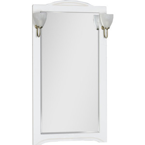 Зеркало Aquanet Луис 65 белый без светильника (164892) зеркало aquanet луис 110 бежевый без светильника 173210