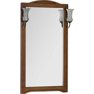 Зеркало Aquanet Луис 65 цвет темный орех без светил (164402) комплект мебели aquanet луис 65 цвет темный орех раковина стол shenxin