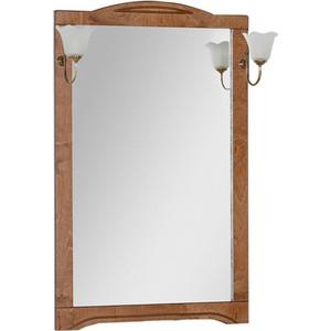 Зеркало Aquanet Луис 70 темный орех, без светильника (173215) зеркало aquanet луис 110 бежевый без светильника 173210