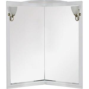 Зеркало Aquanet Луис 70 (001) угловое белый без светильника (171916) зеркало aquanet луис 110 бежевый без светильника 173210