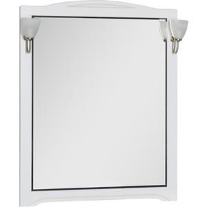 Зеркало Aquanet Луис 90 белый без светильника (173220) зеркало aquanet луис 110 бежевый без светильника 173210