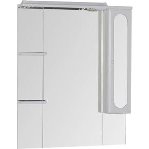 Зеркальный шкаф Aquanet Марсель 80 полки (100301) шкаф изотта 23к дверь правая ангстрем