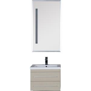 Комплект мебели Aquanet Нота 58 алюминий цвет светлый дуб (162870)