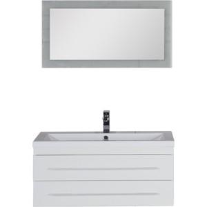 Комплект мебели Aquanet Нота 90 лайт цвет белый утюг 90 х