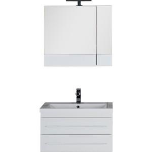 Комплект мебели Aquanet Нота 75 цвет белый abs 1 75 3d 395m