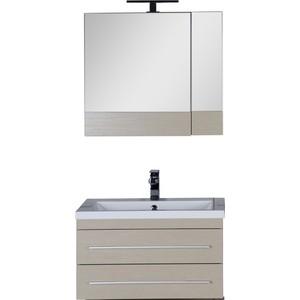 Купить комплект мебели Aquanet Нота 75 цвет светлый дуб (328054) в Москве, в Спб и в России
