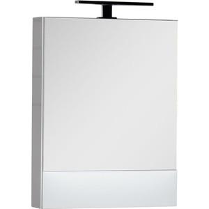 Зеркальный шкаф Aquanet Нота 58 бел (камерино) (165370) чаша горошек 2 л бел син 1150426