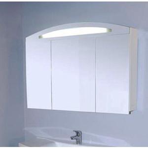 Зеркальный шкаф Aquanet Тренто 120 бел (156488) gira gira s 55 бел глянц накладка светорегулятора сенсорного с индикацией 226003