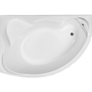 Акриловая ванна Aquanet Jamaica 160x100 L каркас слив-перелив, левая, без гидромассажа (139547) акриловая ванна aquanet augusta 170x90 l