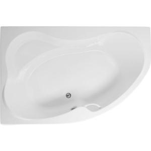 Акриловая ванна Aquanet Capri 170x110 L каркас слив-перелив, левая, без гидромассажа (155535) aquanet акриловая ванна aquanet capri 170 110 l 155535
