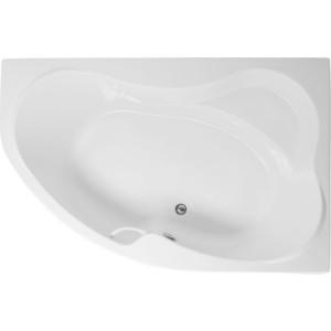 Акриловая ванна Aquanet Capri 170x110 R каркас слив-перелив, правая, без гидромассажа (155536) aquanet акриловая ванна aquanet capri 170 110 l 155535