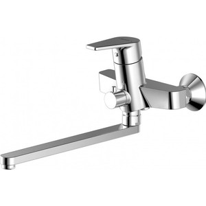 Смеситель для ванны Bravat Line (F65299C-1L) смеситель для ванны коллекция drop f64898c l однорычажный хром bravat брават