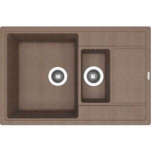 Мойка кухонная Florentina Липси 780К коричневый FG (20.250.D0780.105) мойка кухонная florentina липси 760 760х510 коричневый fg 20 160 d0760 105