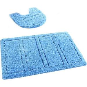 IDDIS Blue Landscape Набор ковриков для ванной 60*90 см, 50*50 см, микрофибра (241M590i13) набор ковриков для ванной iddis beige landscape цвет бежевый 60 х 90 см 50 х 50 см 2 шт