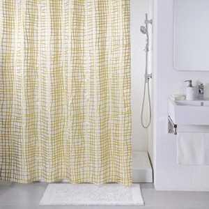Штора для ванной IDDIS Golden Gauze 200х200 см
