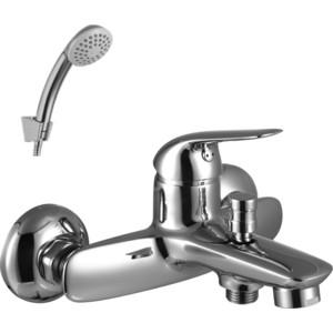 Смеситель для ванны Lemark Plus advance  коротким изливом  аксессуарами (LM1202C)