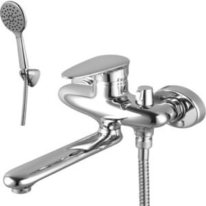 Смеситель для ванны Lemark Status с фиксиром изливом 170 мм с аксессуарами (LM4414C)
