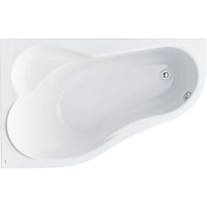 Акриловая ванна Santek Ибица XL 160х100 см левая без монтажного комплекта (1WH112036) santek ибица 150 r