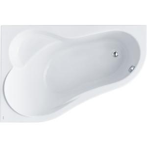 Акриловая ванна Santek Ибица 150х100 см левая без монтажного комплекта (1WH112034)  santek ибица 150х100 1wh112433