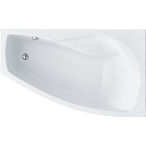 Акриловая ванна Santek Майорка 150х90 см правая без монтажного комплекта (1WH111985) акриловая ванна santek монако 170 см
