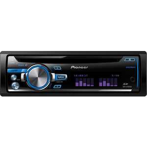 Автомагнитола Pioneer DEH-X7650SD автомагнитола kenwood kdc 300uv usb mp3 cd fm rds 1din 4х50вт черный