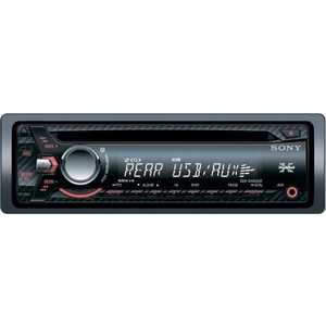 Автомагнитола Sony CDX-G1003UR автомагнитола kenwood kdc 300uv usb mp3 cd fm rds 1din 4х50вт черный