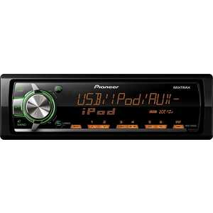 Автомагнитола Pioneer MVH-X460UI автомагнитола pioneer mvh 280fd usb mp3 cd fm 1din 4x100вт черный