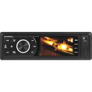 Автомагнитола Soundmax SM-CCR3082M автомагнитола kenwood kdc 300uv usb mp3 cd fm rds 1din 4х50вт черный