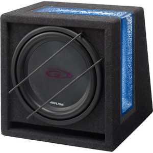 Сабвуфер Alpine SBG-1244BR enke enkor e50 ноутбук 2 1 комбинированный аудио сабвуфер настольный мультимедиа деревянный динамик синий