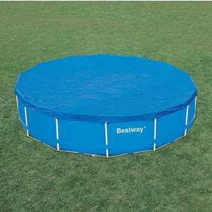Крышка для каркасного бассейна Intex 4.57 м (28032) тент intex 28039 для каркасного бассейна rectangular frame 460x226 см выступ 20 см