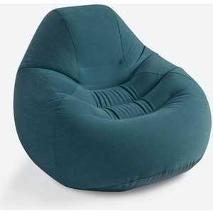 Надувное кресло Intex серое 122х127х81 см (68583)