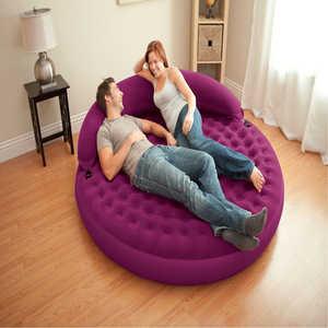 Надувной матрас-кровать Intex 191х191х53 см (68881) матрас кровать надувной intex бим стандарт