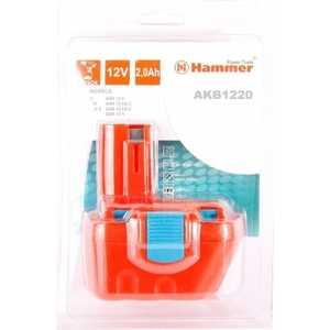 Аккумулятор Hammer AKB1220 12В 2.0Ач hammer hlg2000