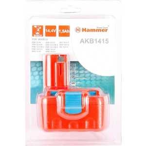 Аккумулятор Hammer AKB1415 14.4В 1.5Ач hammer hlg2000