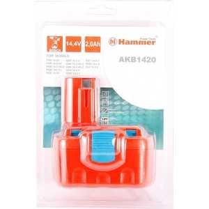 Аккумулятор Hammer AKB1420 14.4В 2.0Ач hammer hlg2000