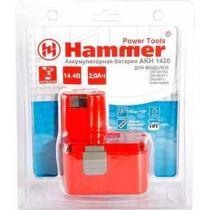 Аккумулятор Hammer AKH1420 14.4В 2.0Ач hammer hlg2000