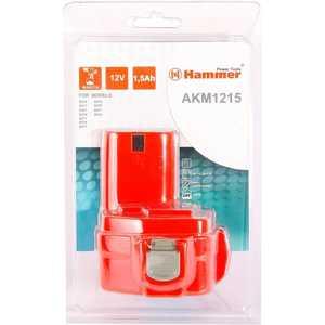 Аккумулятор Hammer AKM1215 12В 1.5Ач hammer hlg2000