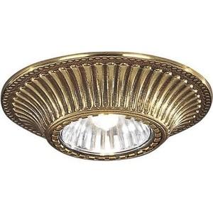 Точечный светильник Reccagni Angelo SPOT 1078 oro встраиваемый светильник reccagni angelo spot 1078 oro