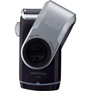 Бритва Braun MobileShave M-90 бритва braun mobileshave m60r серебристый синий