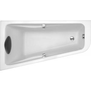 Акриловая ванна Jacob Delafon Odeon Up асимметричная 160x90 L, левая (E6065RU-00) акриловая ванна jacob delafon odeon up асимметричная 160x90 r правая e6081ru 00
