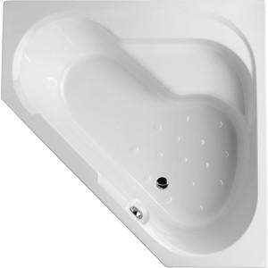 Акриловая ванна Jacob Delafon Bain Douche угловая 145x145 R, правая, на каркасе (E6221RU-00, SF221RU-NF) акриловая ванна jacob delafon bain douche угловая 145x145 r правая на каркасе e6221ru 00 sf221ru nf