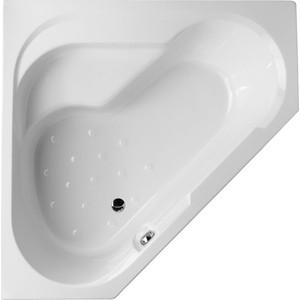 Акриловая ванна Jacob Delafon Bain Douche угловая 145x145 L, левая, на каркасе (E6222RU-00, SF221RU-NF) акриловая ванна jacob delafon bain douche угловая 145x145 r правая на каркасе e6221ru 00 sf221ru nf